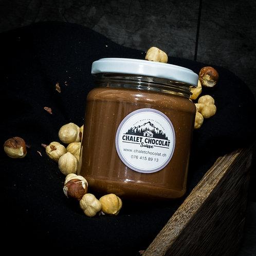 Pâte à tartiner Noisettes & Chocolat noir 52% (200g)