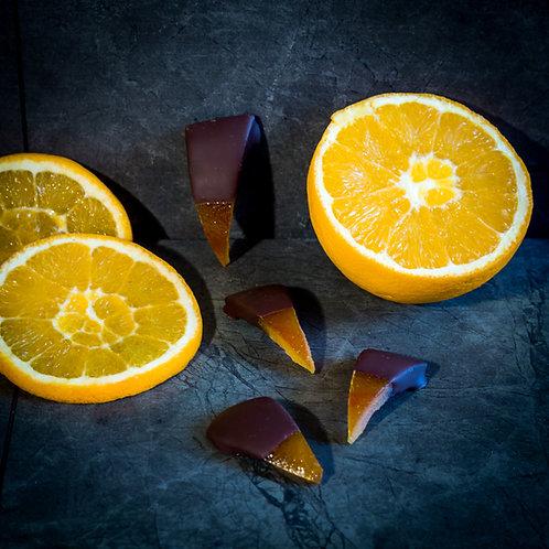 Triangles d'oranges confites (100g)