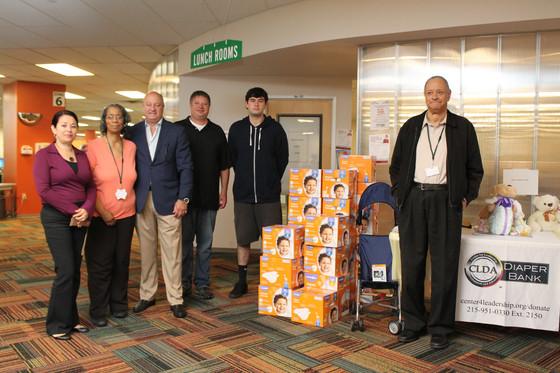 Springfield Hyundai gives to CLDA's Diaper Bank