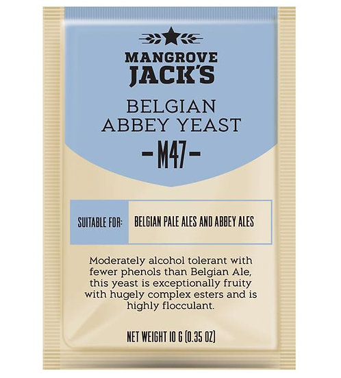 M47 Belgian Abbey Yeast 10g