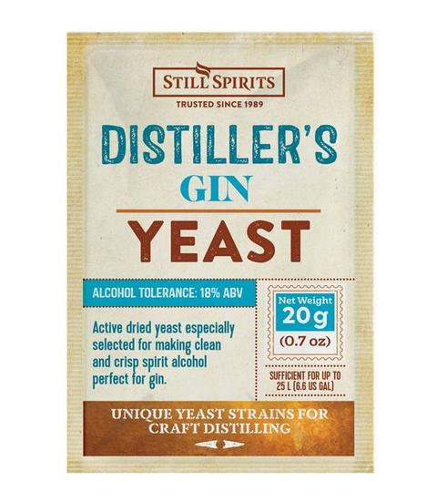 Distiller's Gin Yeast Still Spirits 20 g