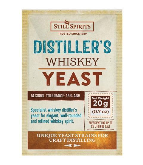 Distiller's Whiskey Yeast Still Spirits 20g