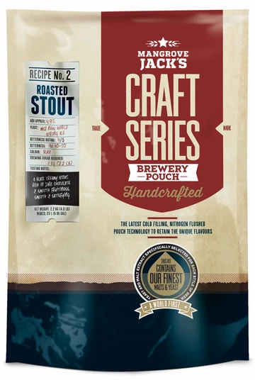 MANGROVE JACK'S ROASTED STOUT(With Dry Hops)