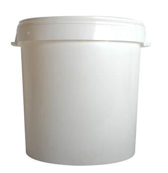 Plastic Bucket with Lid 32 Lt
