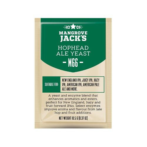M66 Hophead Ale Yeast Mangrove Jack's 10g