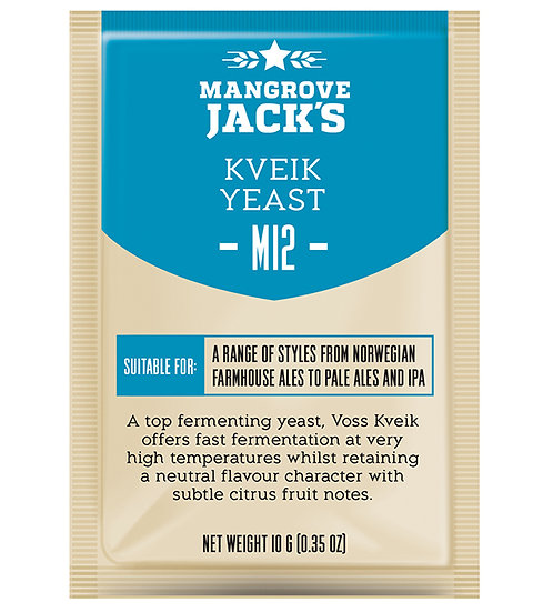 M12 Kveik Yeast Mangrove Jack's 10g
