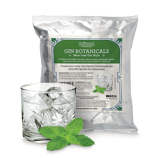 Gin Botanicals, Mint Leaf Gin Style, Still Spirits 50g