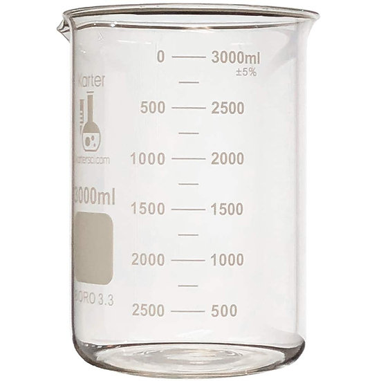 Glass Beaker graduated heat resistant