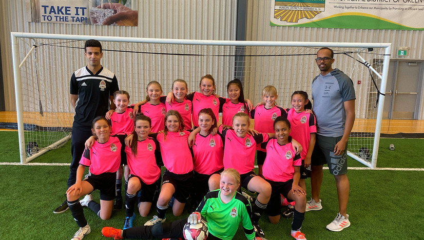 U13 Girls Team - SWSFC Family Day Cup 2020