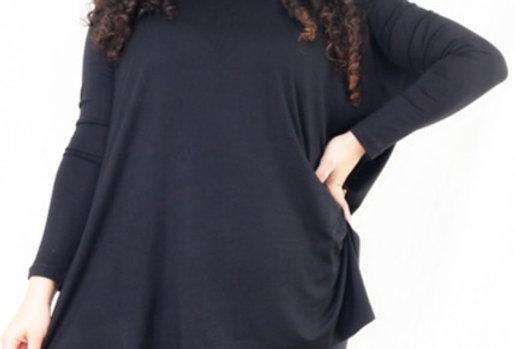 Blusa Quadrada Lisa Visco Josephine