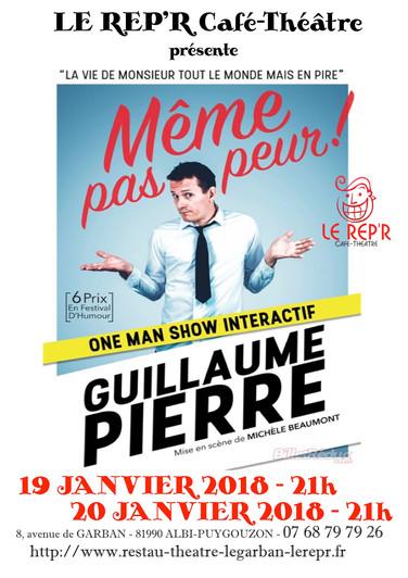"""Guillaume Pierre - """"Même pas peur"""""""