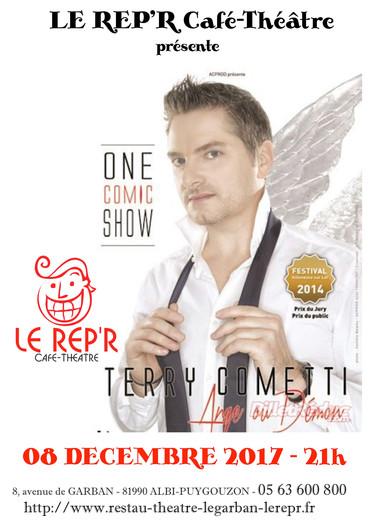"Terry Cometti - ""Ange ou Démon"""