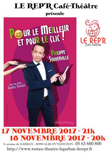 """Philippe Souverville - """"Pour le meilleur et pour le clic"""""""