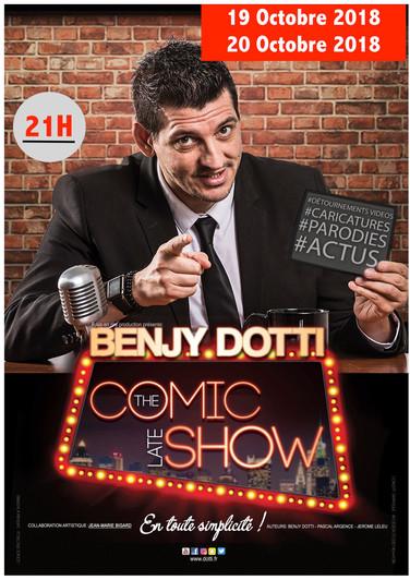 Benjy DOTTI - The Late Comic Show