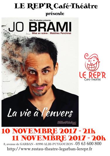 """Jo Brami - """"La vie à l'envers"""""""
