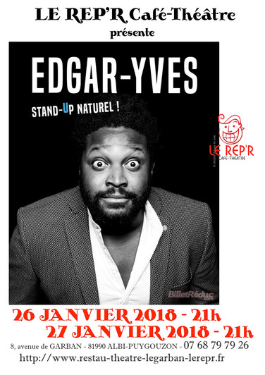 "Edgar-Yves - ""Stand-up naturel"""