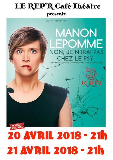 """Manon LEPOMME - """"Non je n'irai pas chez le psy"""""""