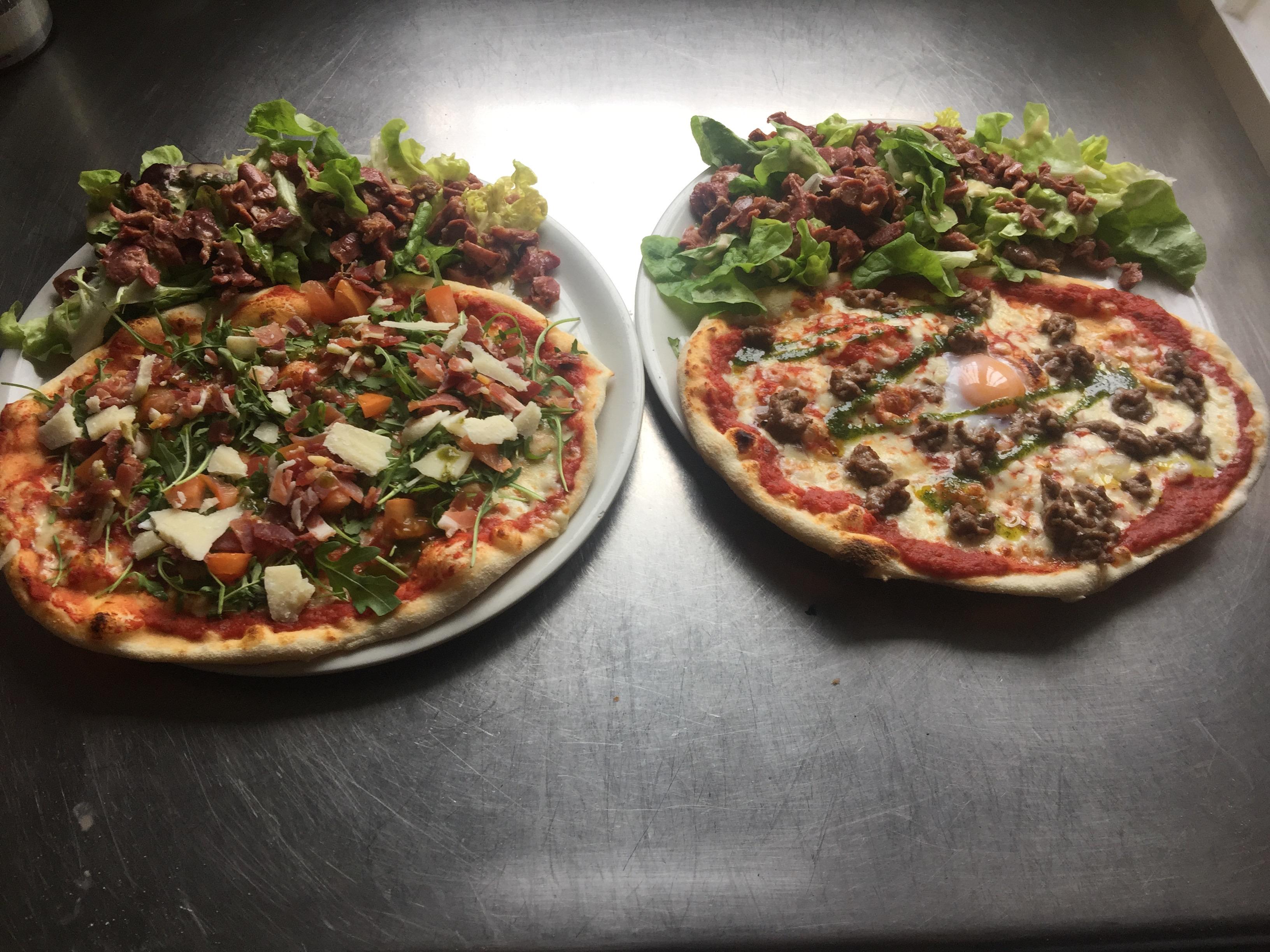 Pizza Mezzo