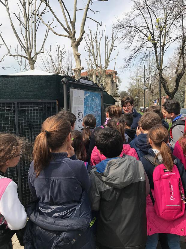 """Aprile 2018: iniziano le visite scolastiche con il Progetto """"Abitare a Cusano"""""""
