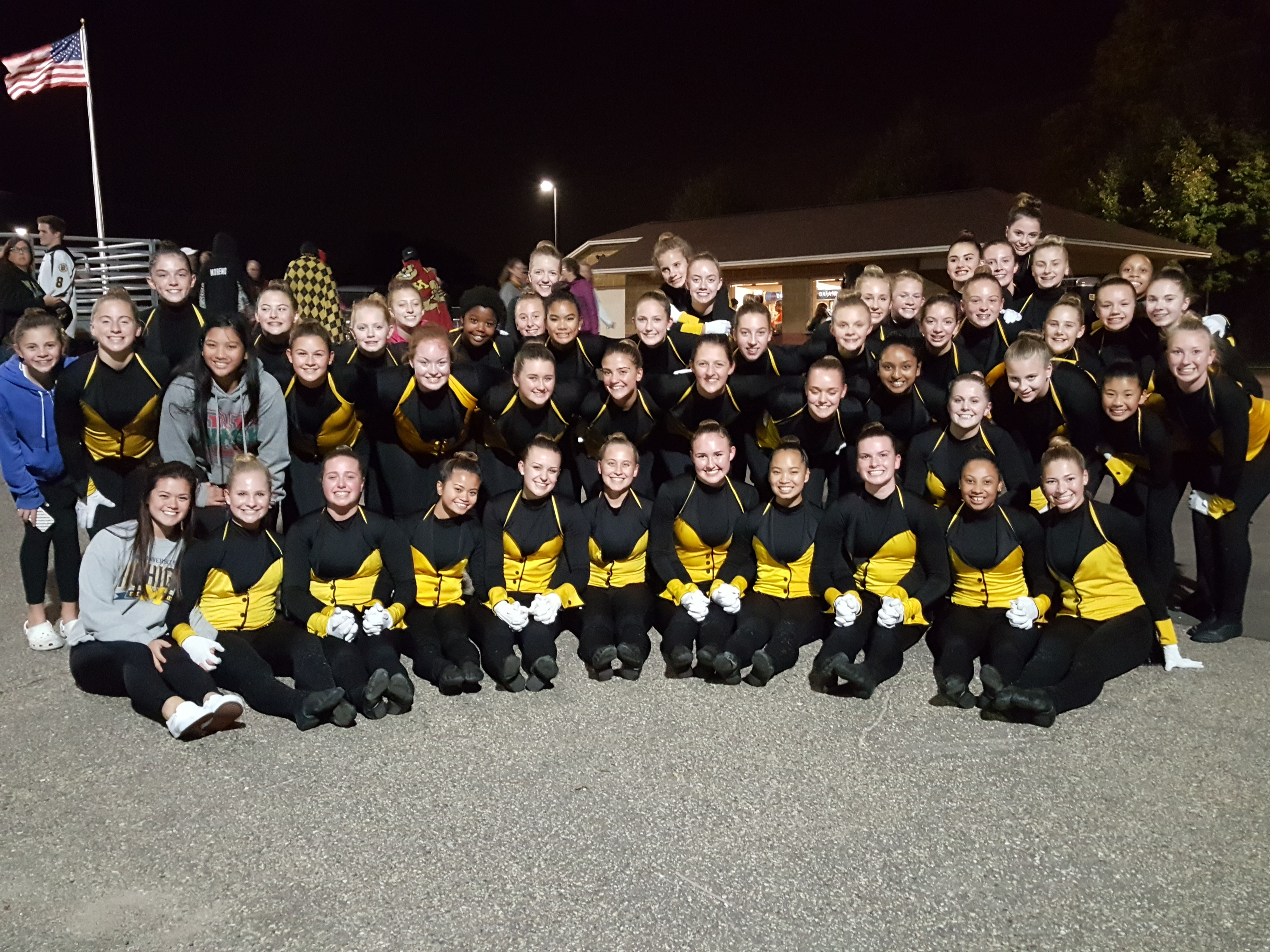 2017-10-05 Blazettes Kick Tux Girls Soccer Game 042