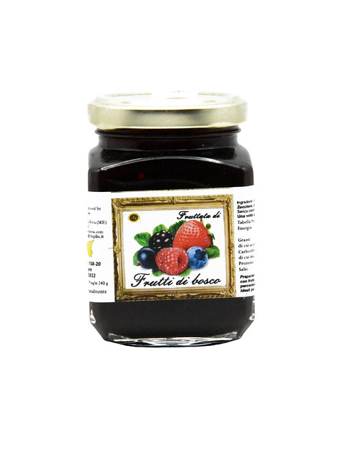 Dolcezze di Rumia, FRUIT OF THE FOREST JAM 440g