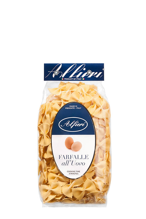 Alfieri Pastificio, FARFALLE WITH EGG bag 500g