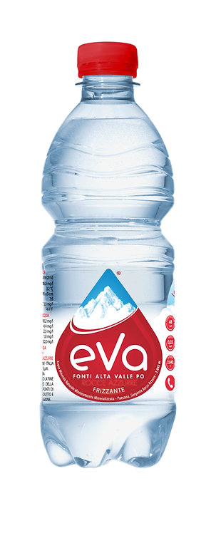 Eva, Sparkling Natural Mineral Water 24x50cl plastic box