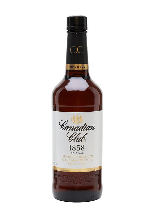 Canadian Club 6 Year Old (Canadian Whiskey) 40.0% 70cl
