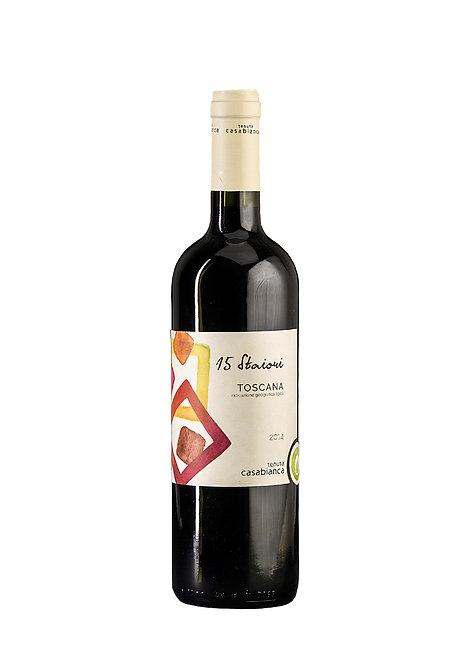 "Tenuta Casabianca, Toscana Rosso ""15 Staiori"" IGT, 2014"