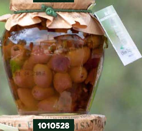 Frantoio Sant'Agata, LIGUREAN PITTED OLIVES in E/V Olive Oil 260g