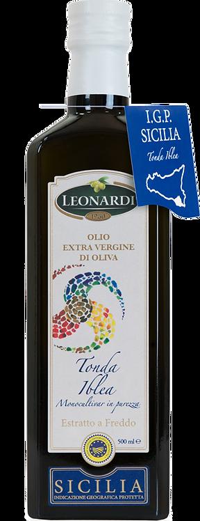 Leonardi, EXTRA VIRGIN OLIVE OIL TONDA IBLEA - PGI SICILY 50cl
