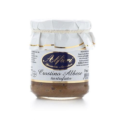 Alfieri Pastificio, MEAT AND TRUFFLE PATÉ 'CROSTINO ALBESE TARTUFATO' 180g