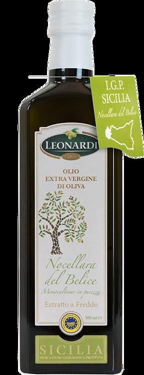 Leonardi, EXTRA VIRGIN OLIVE OIL NOCELLARA DEL BELICE - PGI SICILY 50cl
