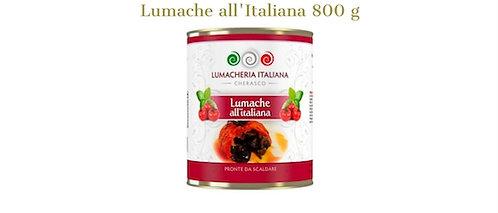 """Lumacheria Italiana, snails """"all'Italiana"""" - tomato & pesto 800g - tin"""
