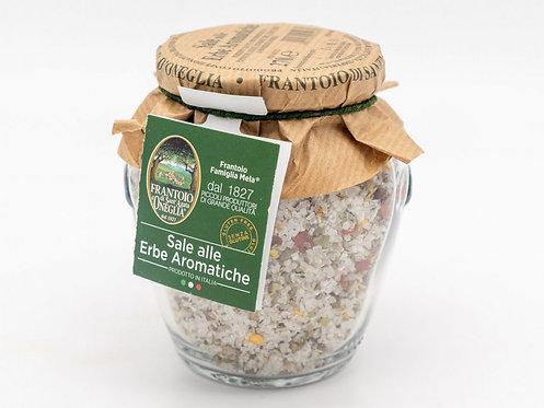 Frantoio Sant'Agata, SALT with Herbs-chilli,basil,rosemary,thym,laurel,sage 270g