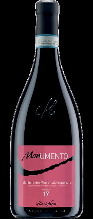 Hic et Nunc, Barbera del Monferrato Superiore 'MONumento' DOCG, 2017