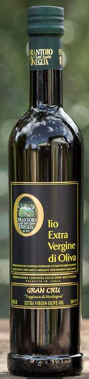 Frantoio Sant'Agata, E/V olive oil 100% Italiano Gran Cru TSGGIASCA DI MONTAGNA