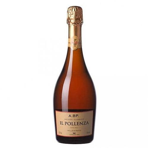 Il Pollenza, Spumante Metodo Classico Millesimato Extra Brut Rosé A.BP VSQ, 2012