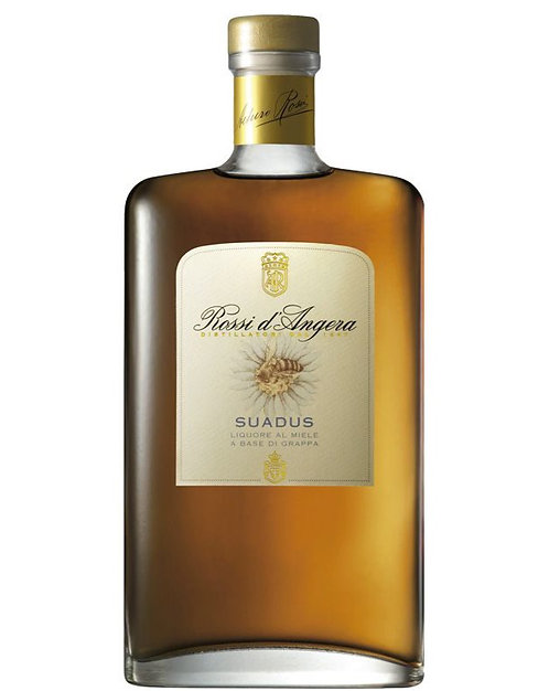 """Rossi d'Angera, Liquore """"Suadus"""" Aged Moscato d'Asti grappa and honey 30.0% 70cl"""