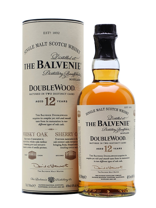 Balvenie - Doublewood 12 Year Old (Speyside Malt Whisky) 40.0% 70cl