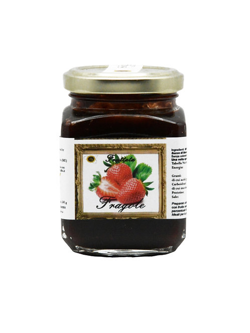 Dolcezze di Rumia, STRAWBERRIES JAM 440g
