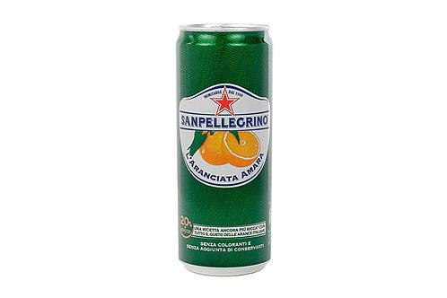 Sanpellegrino, ARANCIATA AMARA 24 can x 330 ml