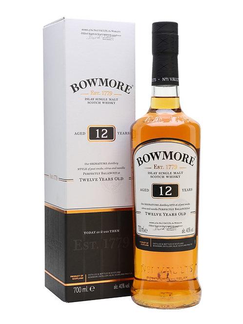 Bowmore - 12 Year Old (Islay Malt Whisky) 40.0% 70cl