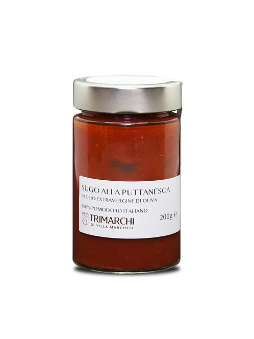 Trimarchi, PUTTANESCA SAUCE (TOMATO AND OLIVES) 350g