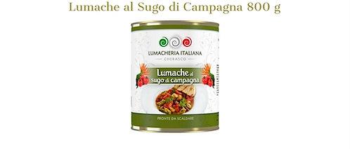"""Lumacheria Italiana, snails with """"Farmer's"""" sauce 800g - tin"""