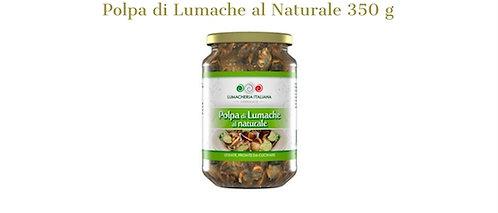 Lumacheria Italiana, natural snails meat 350g - drained weight 280g - glass jar