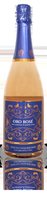 Tenuta Cavalier Pepe, Vino Spumante 'Oro Rosé' VSQ, NV