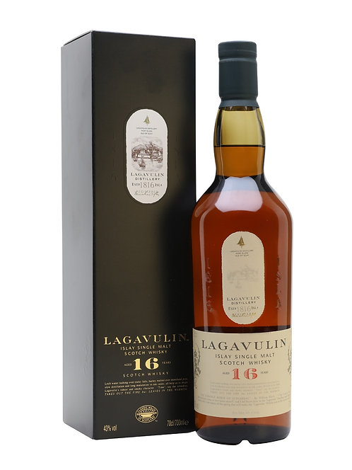 Lagavulin - 16 Year Old (Islay Malt Whisky) 43.0% 70cl