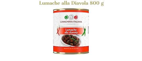 Lumacheria Italiana, snails with spicy sauce - chilli pepper 800g - tin