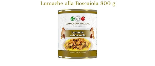 Lumacheria Italiana, SNAILS WITH MUSHROOM SAUCE 800g - tin